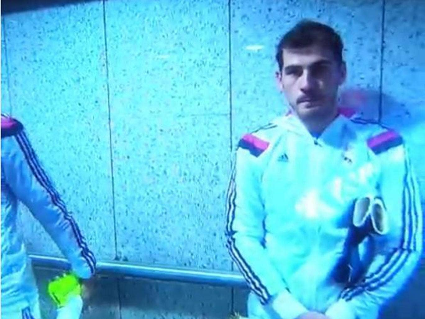 Iker Casillas hilariously snubbed by Real Madrid team-mate Alvaro Arbeloa