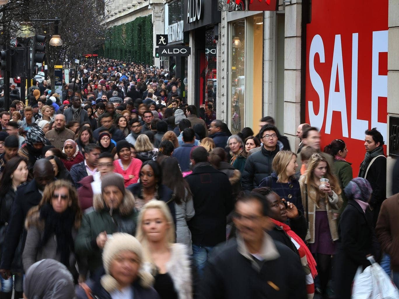 The UAE Ministry of Foreign Affairs said Oxford Street had high rates for fraud, theft and pickpocketing