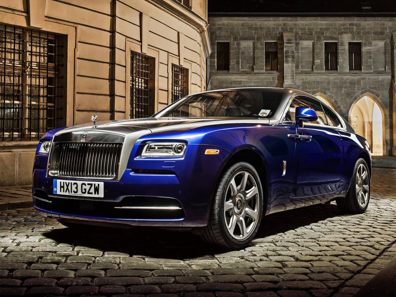 Luxurious hunk: the new Rolls-Royce Wraith