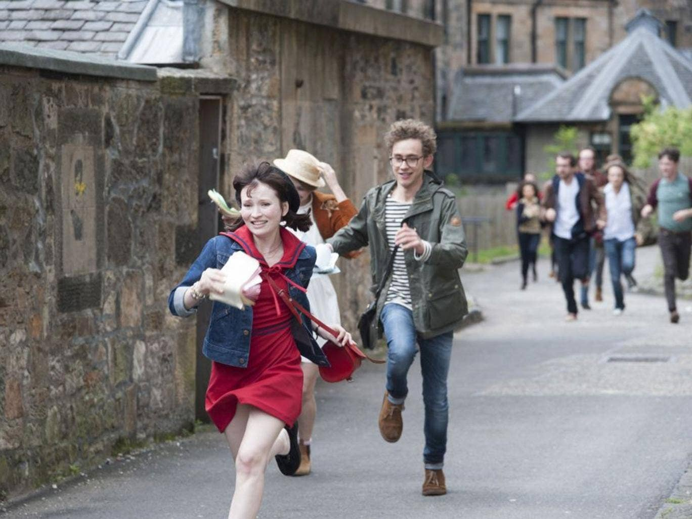 Emily Browning and Olly Alexander in 'God Help the Girl'