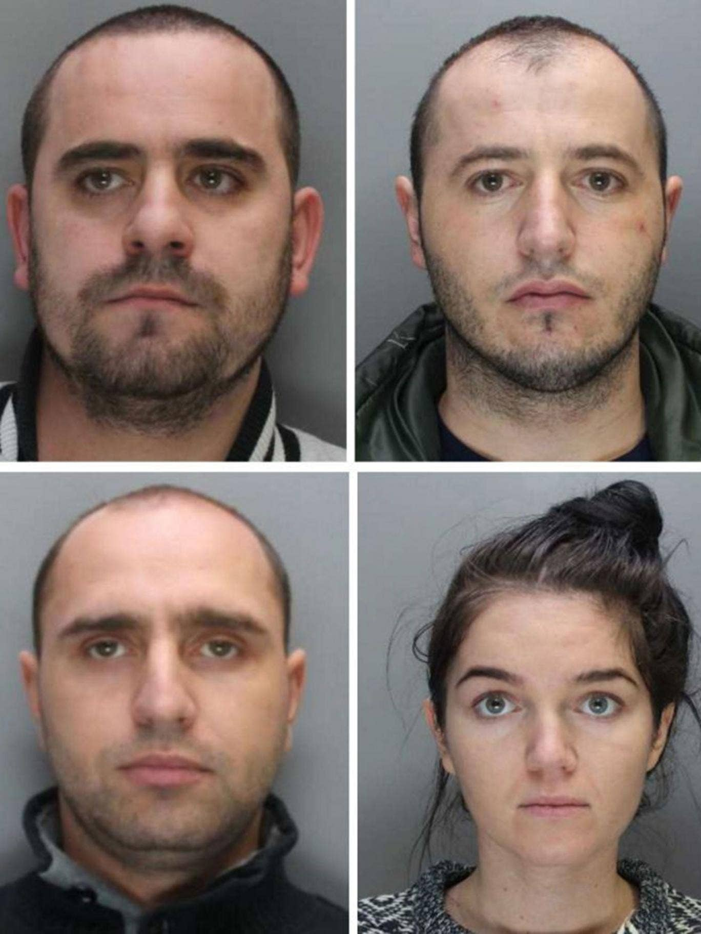 Florin Ioan Silaghi, Vasile Daniel Pop, Adriana Alexandra Turc and Ovidiu Florin Metac, were all part of the gang of Romanian fraudsters who stole an estimated £16 million-worth of bank card details from more than 60,000 people in the UK and abroad