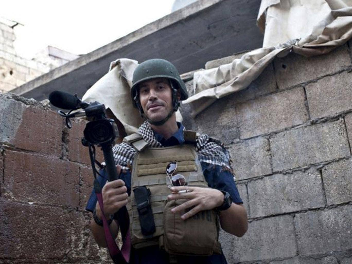 James Foley was kidnapped near Aleppo, Syria, with another journalist in 2012