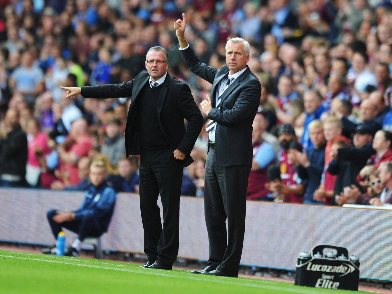 Alan Pardew says Newcastle 'absolutely dominated' and deserved to win against Aston Villa