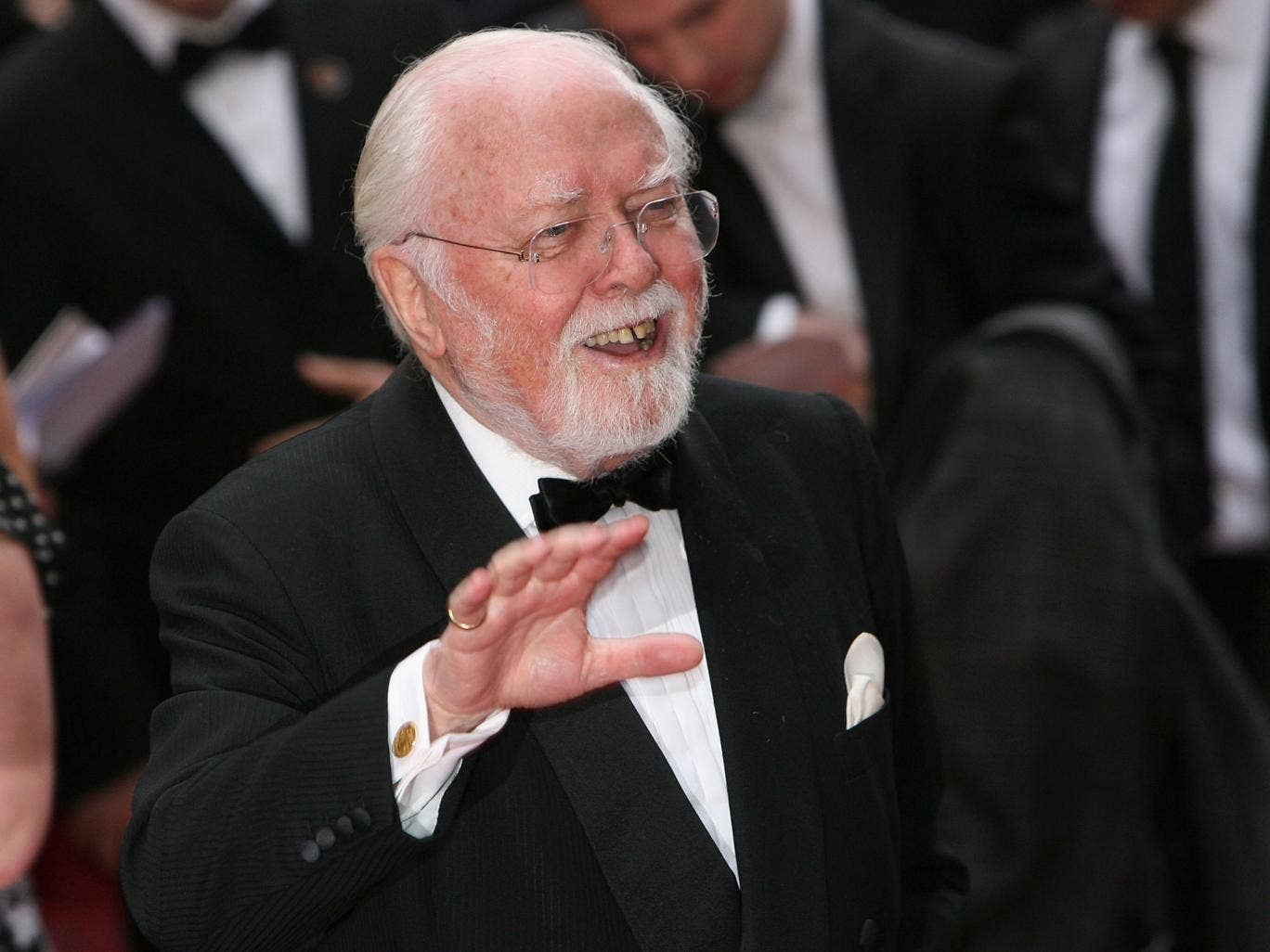 Lord Richard Attenborough attends the Galaxy British Book Awards held at the Grosvenor House Hotel in 2008