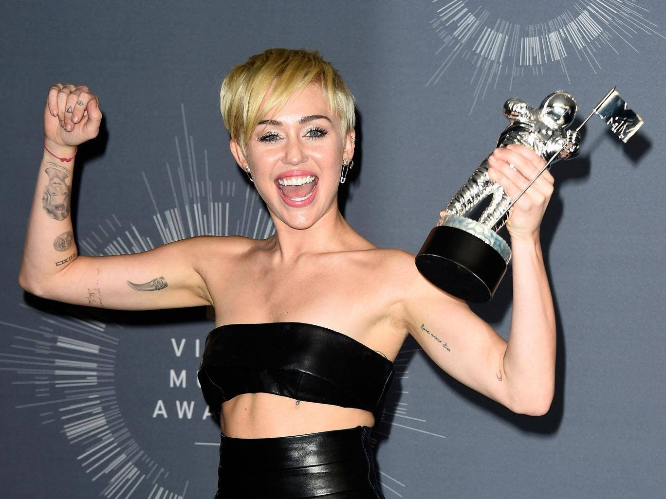 Miley Cyrus has taken home the prize for Video of the Year at the MTV Video Music Awards 2014