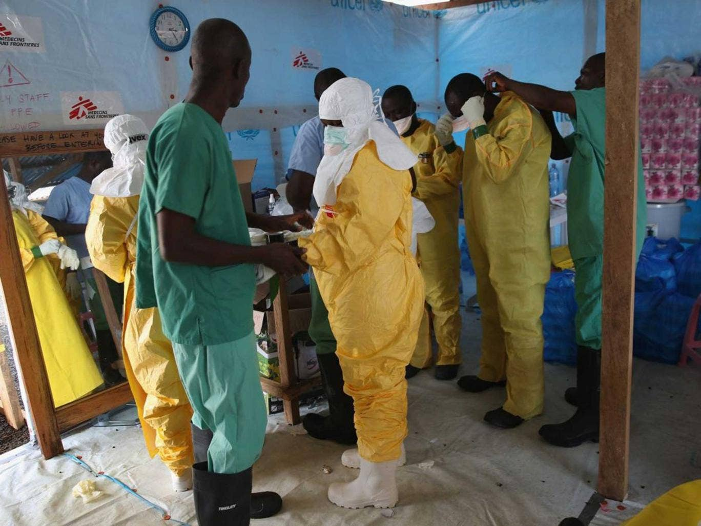 Doctors are struggling to deal with the Ebola outbreak in Liberia