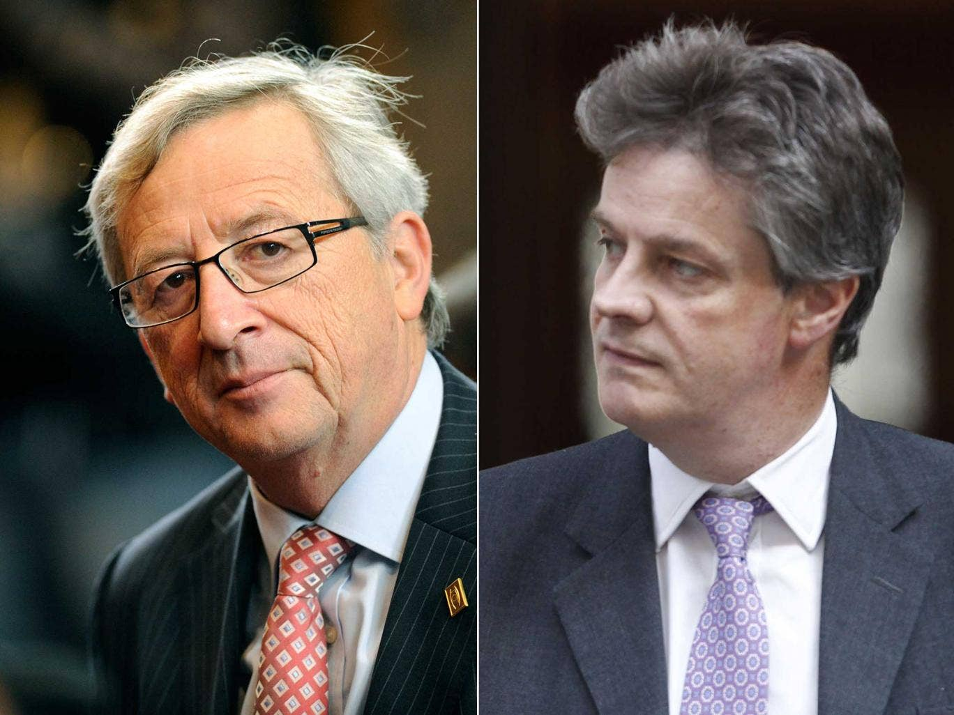 Jean-Claude Juncker and Lord Hill