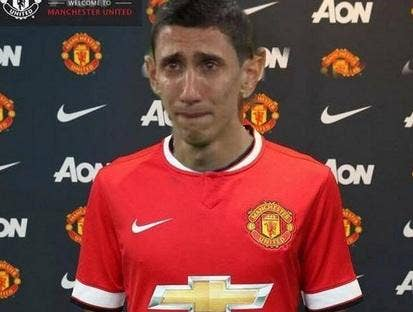 How Angel Di Maria might have looked after the 4-0 thrashing by MK Dons