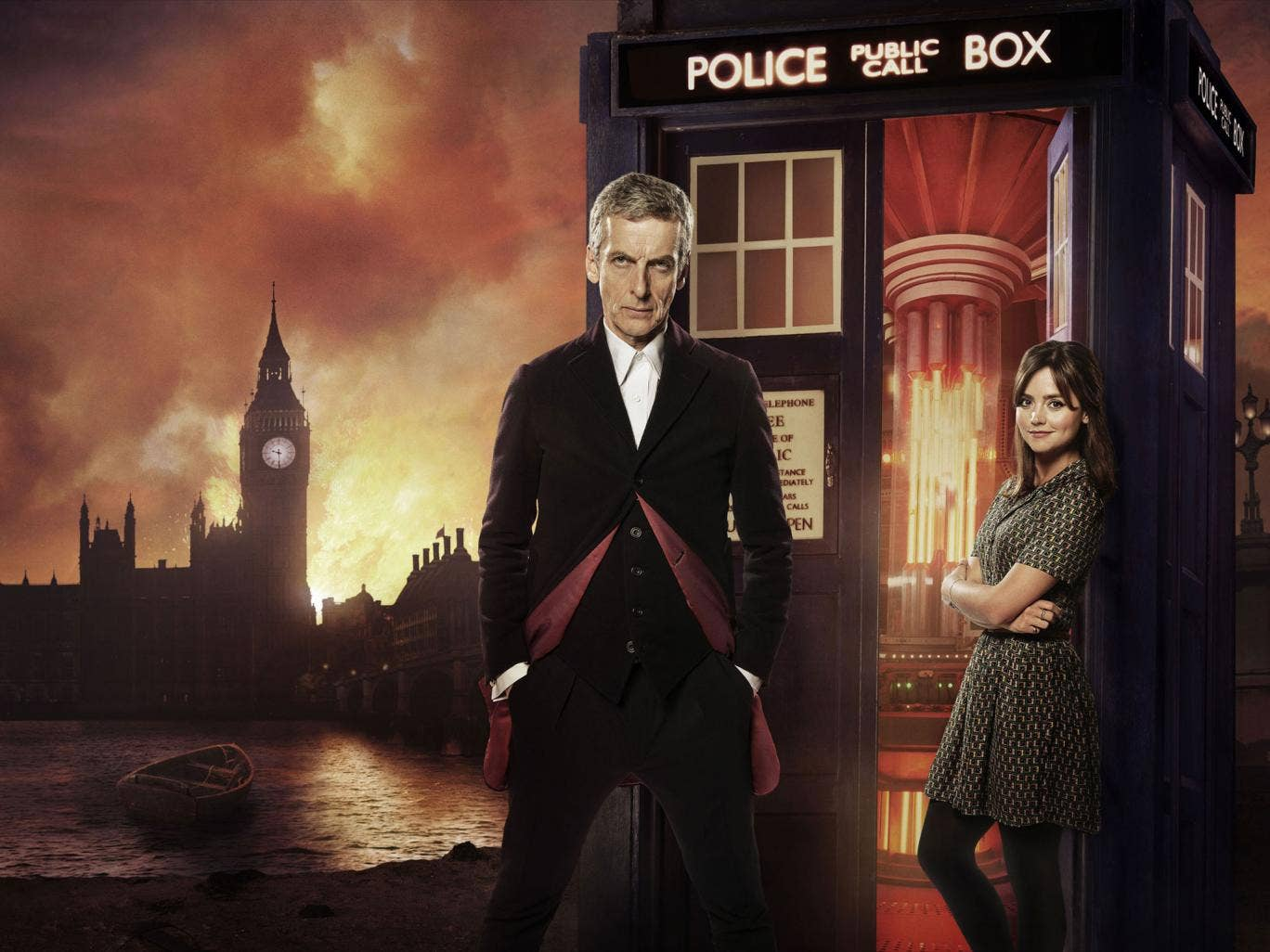 Clara and the twelfth Doctor embark on their first adventure together