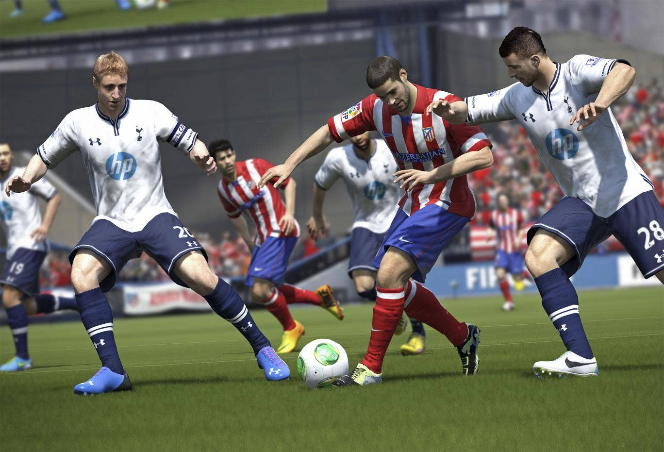 In the game: EA's 'Fifa 14' is very popular with online scouts