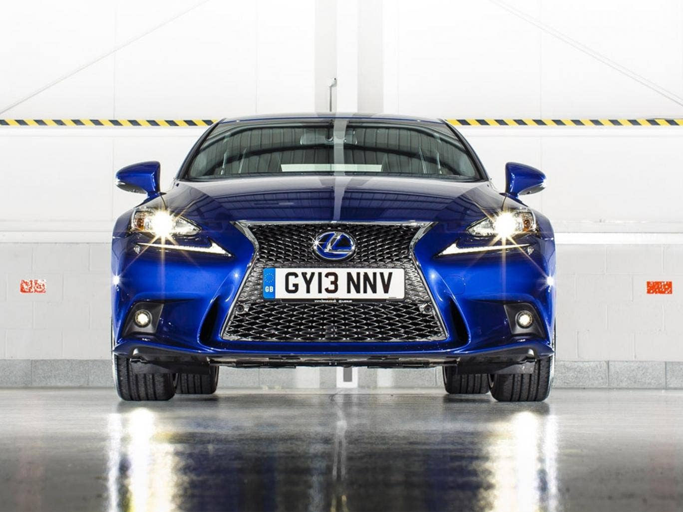 Too sporty: the new Lexus IS300h F Sport