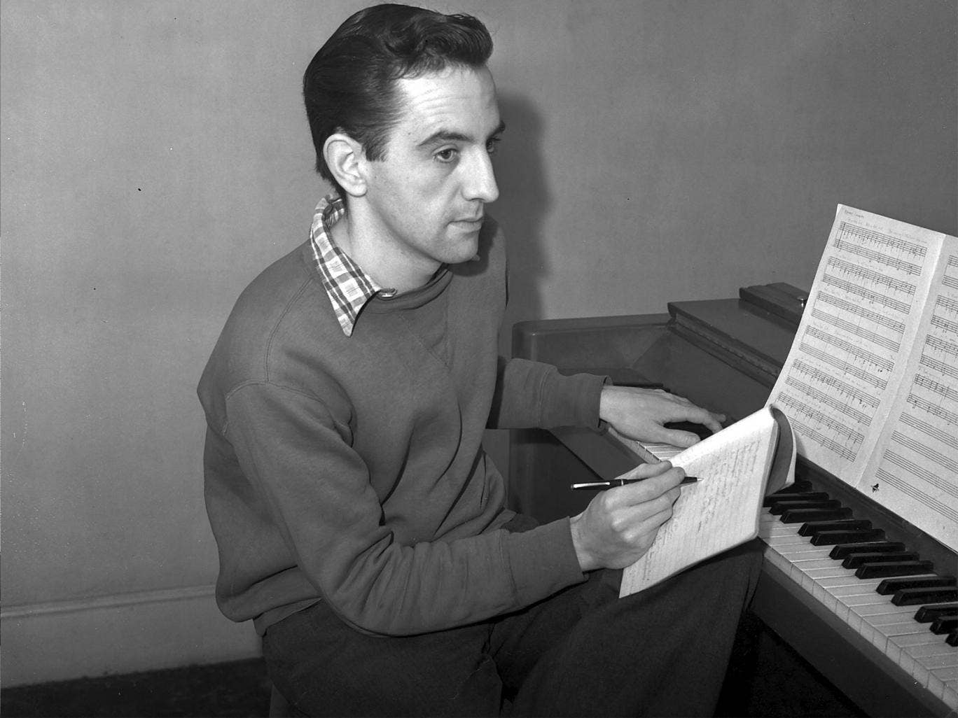 Wilson in 1954, when 'The Boyfriend' transferred, expanded, to the West End, where it ran for 2,084 performances