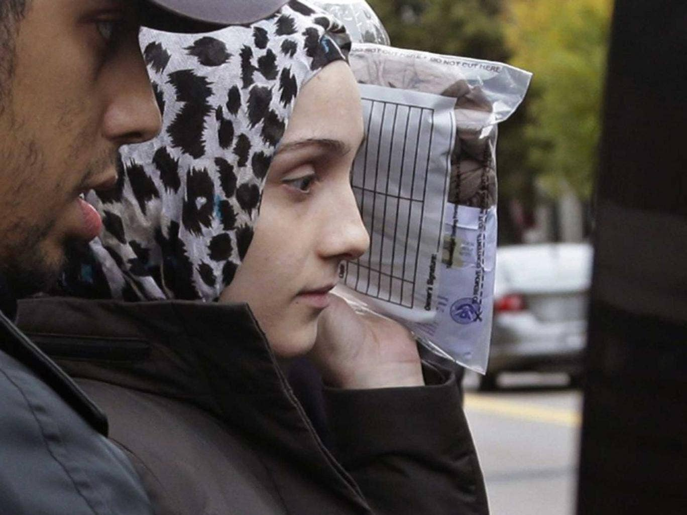 Tsarnaeva departs court back in October