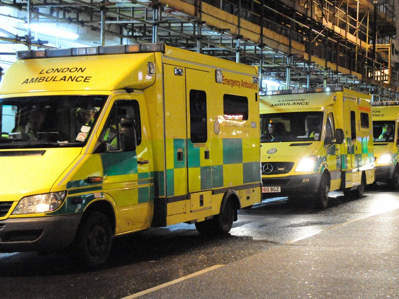 General complaints about patient transport including ambulances were up by 43 per cent