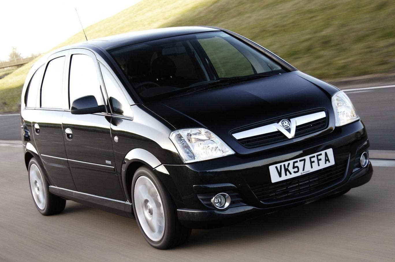 Interesing twist: The Vauxhall Meriva's rear doors hinge from the back so that a dog could potentially get in and out easily