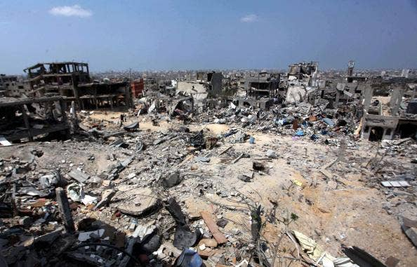 It will take 20 years to rebuild Gaza, according to an NGO