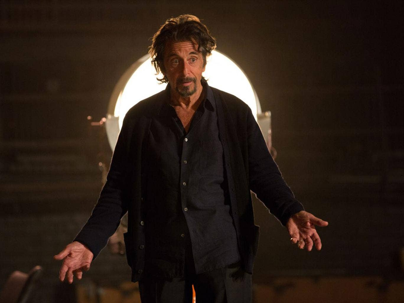 Al Pacino in 'The Humbling', as an ageing actor