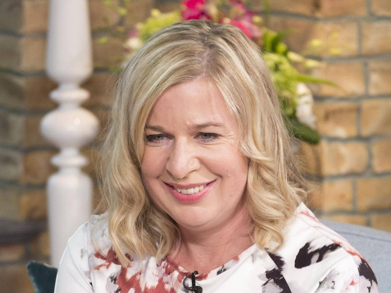 Katie Hopkins appearing on 'This Morning' after she purposefully put on 4 stone.
