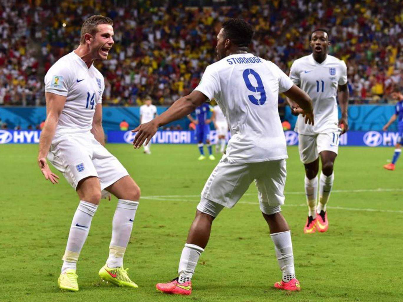 Jordan Henderson has just 13 caps but is being spoken about as a future England captain