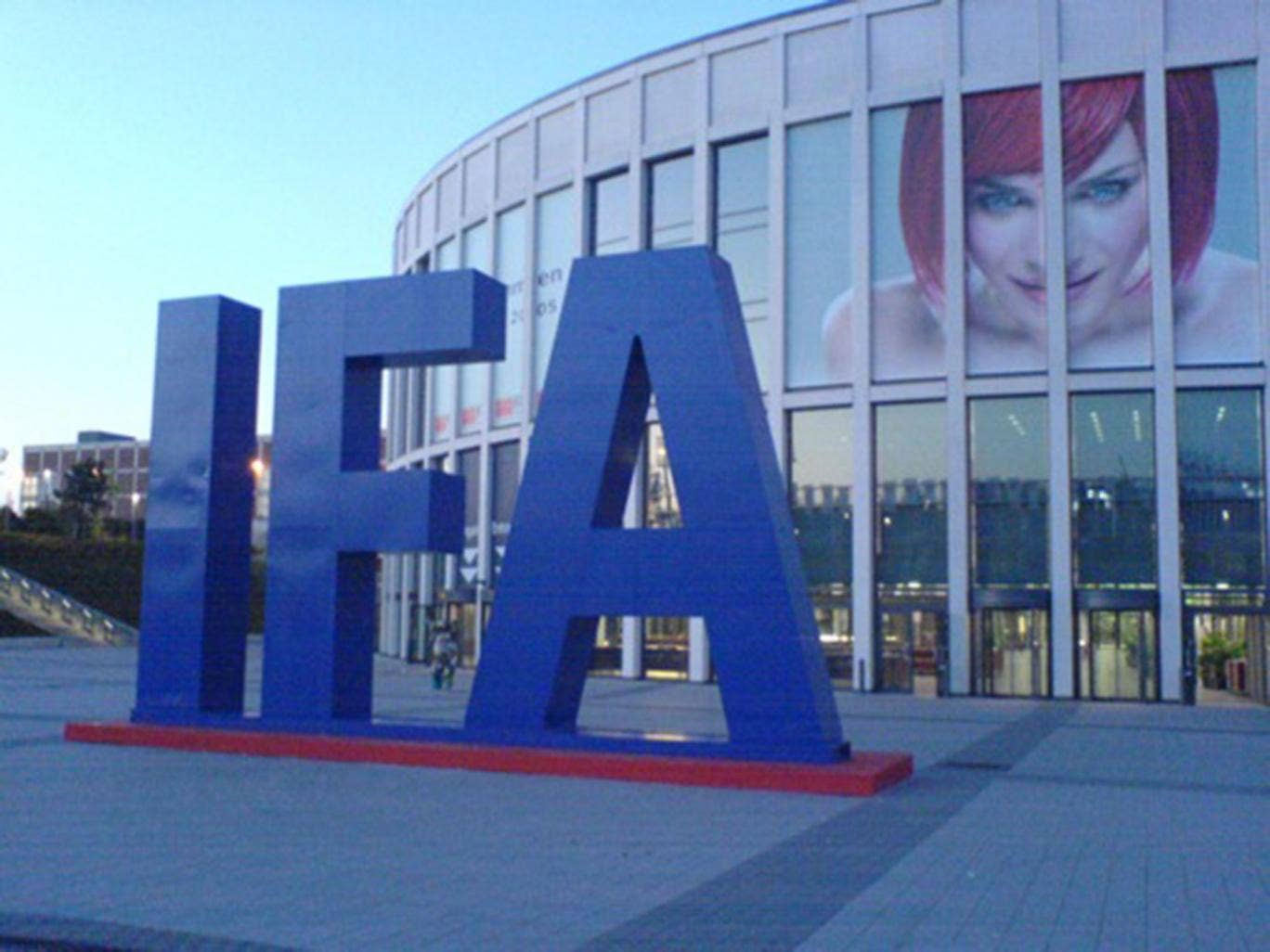 The IFA is held at the Messe Berlin convention centre (pictured here in 2005)
