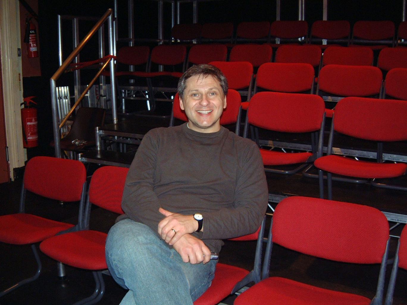 Comedian Simon Lipson