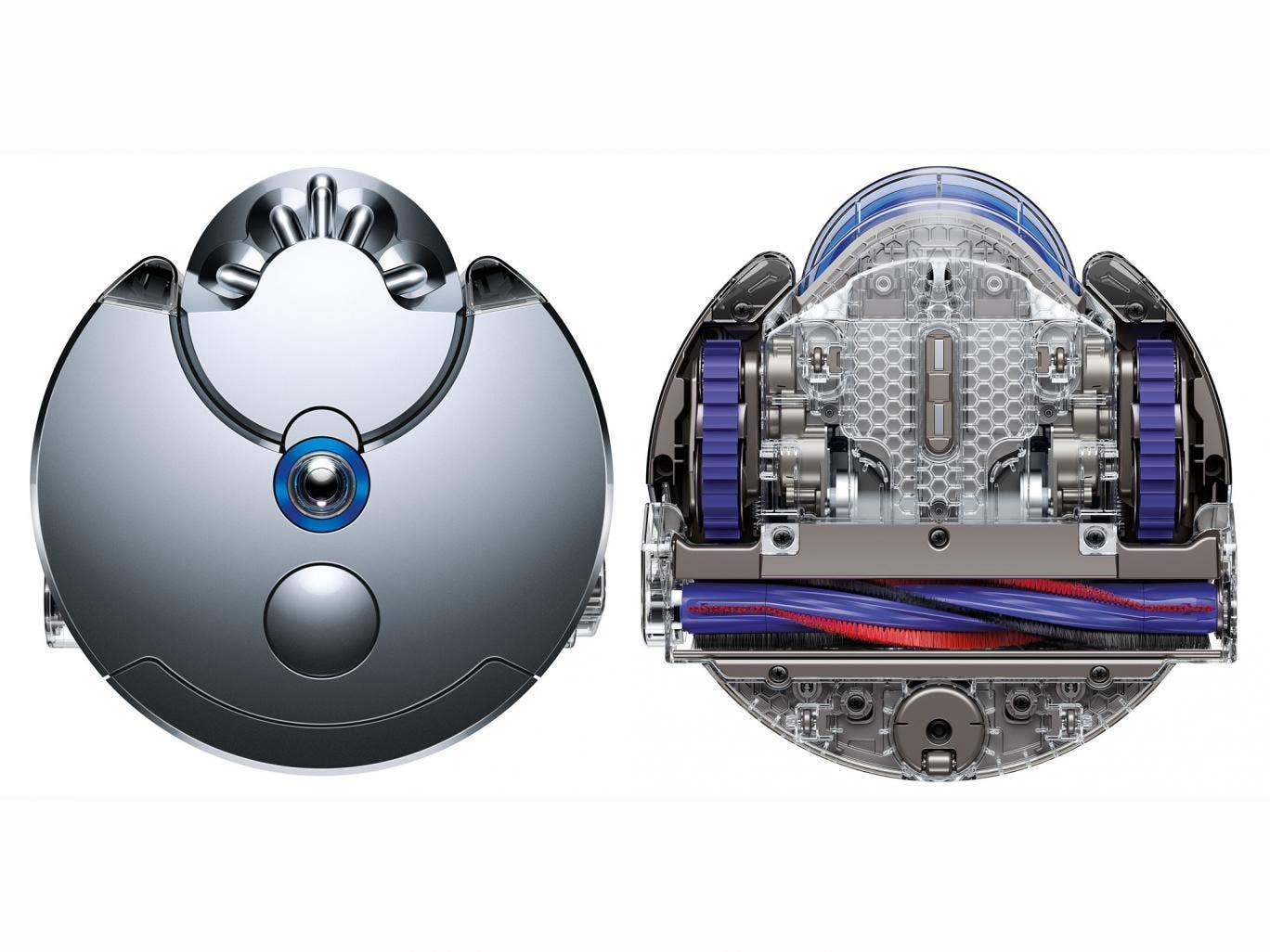 The Dyson 360 Eye, the first robotic vacuum cleaner that owners can control via an app