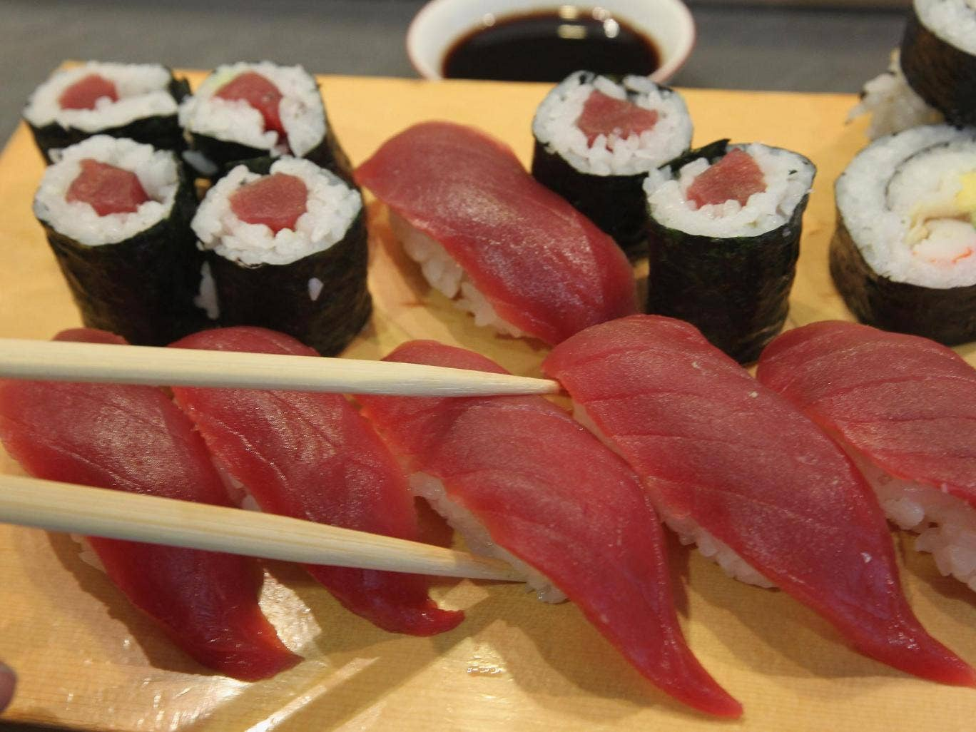 cultural diffusion sushi - the popularity of sushi, a traditional japanese dish, shows diffusion of japanese cuisine- the french quarter in new orleans show diffusion of french culture - people in the united states celebrate cinco de mayo - over two million persecuted jews fled eastern europe between 1881 and 1914 to live in britain or the united states.