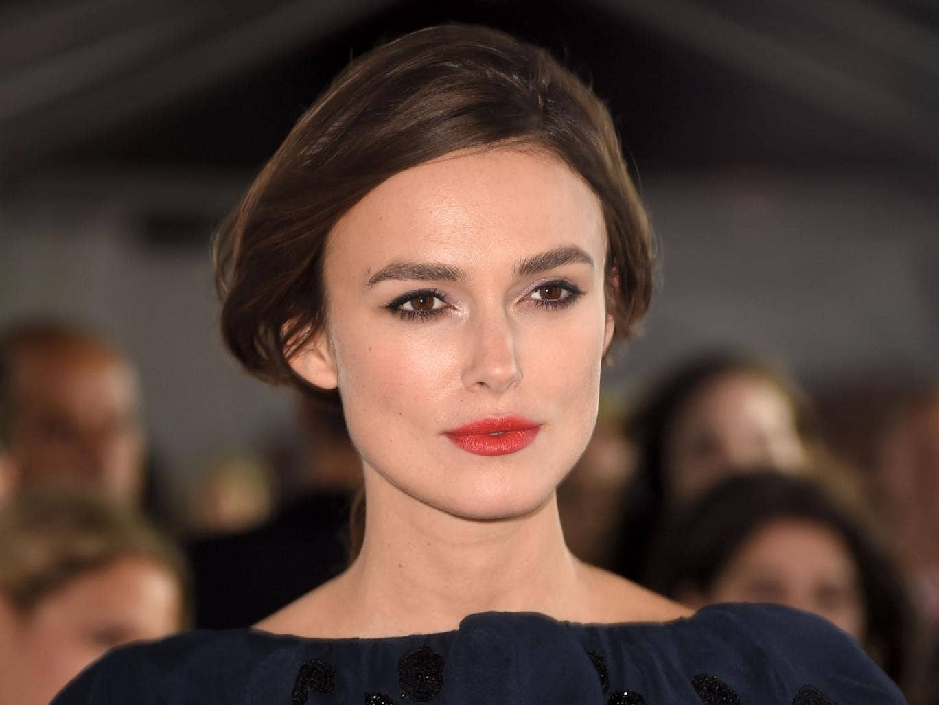 Keira Knightley at the premiere of Laggie at Toronto Film Festival 2014 - Keira-Knightley-Getty