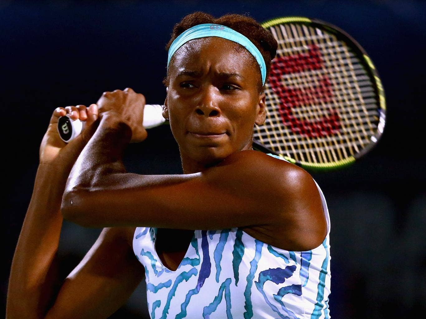 Venus Williams shows her fighting spirit in victory over Barbora ...