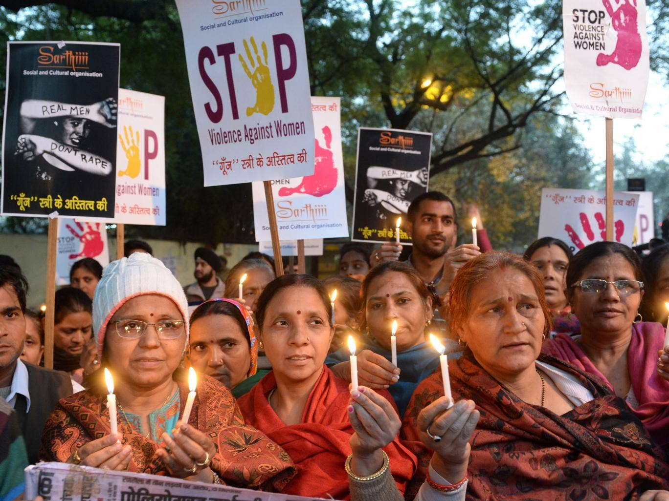 Official figures for the number of women raped in India are often disputed by Women's Rights experts who claim the numbers are far higher