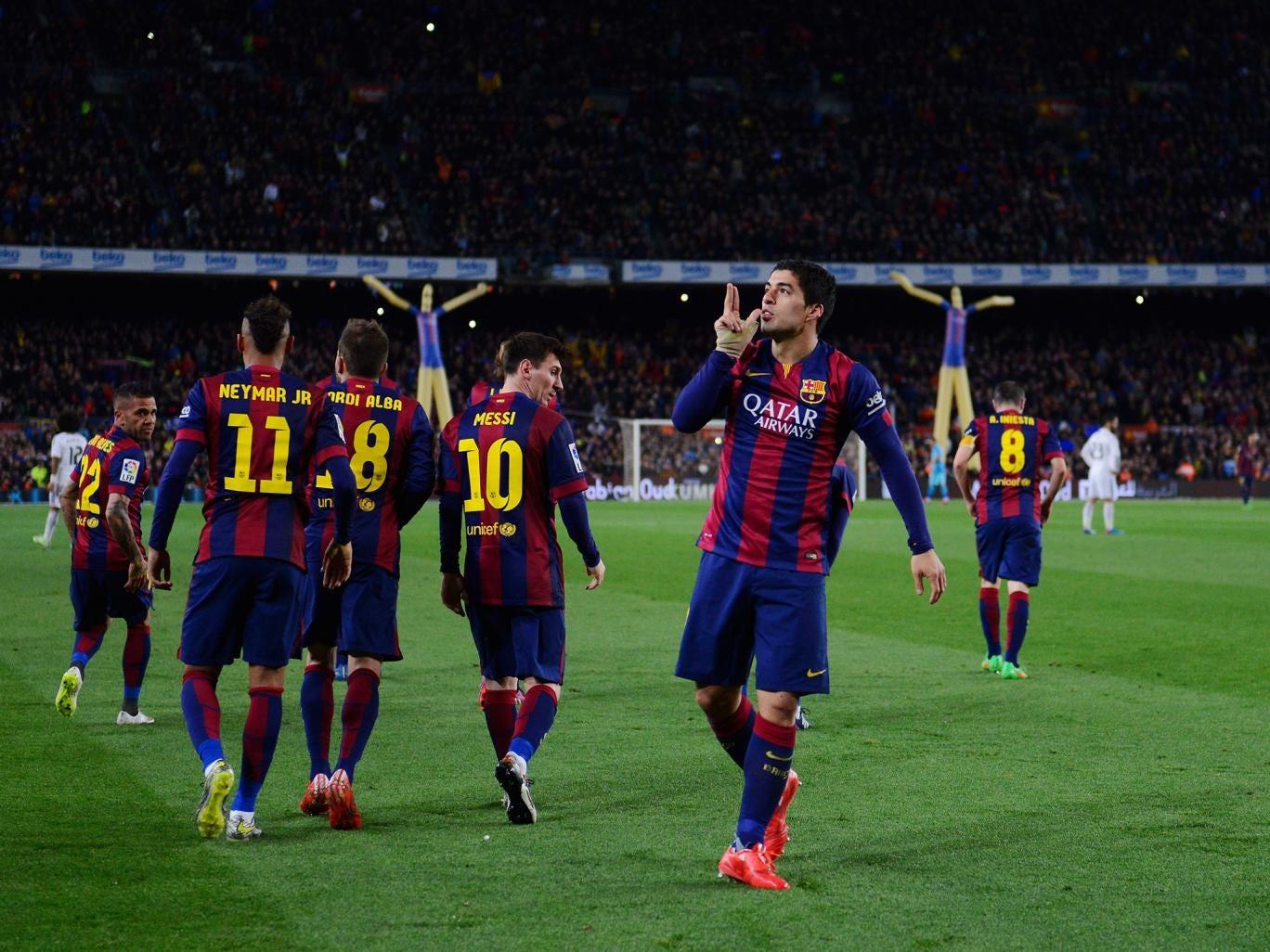 match barcelona real madrid report