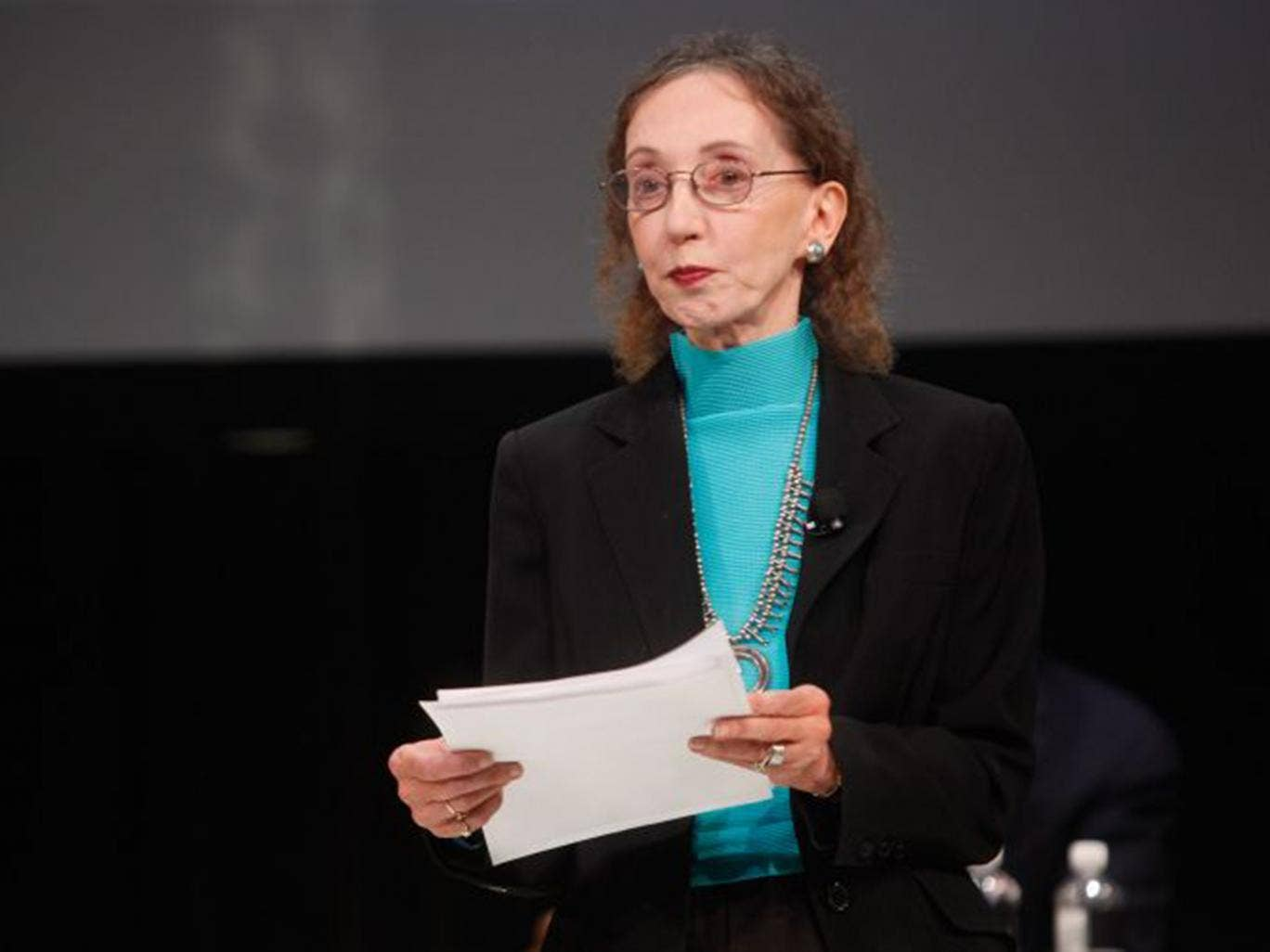 Joyce Carol Oates is among 150 writers to protest that the award ...