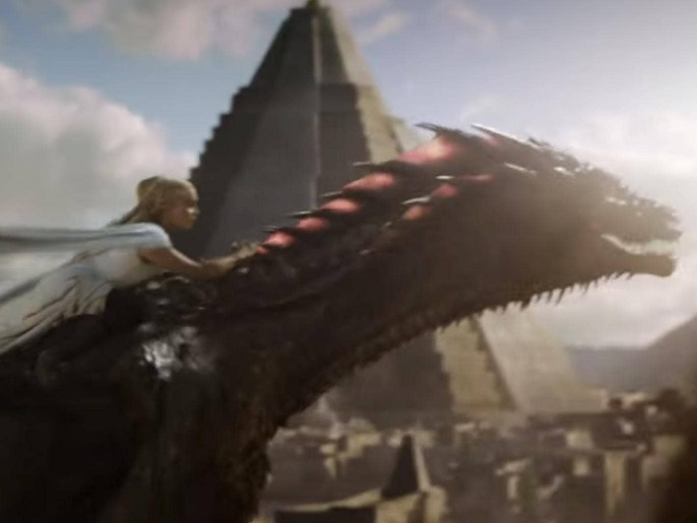 Game Of Thrones Season 5: Daenerys' Dragon Ride Sets