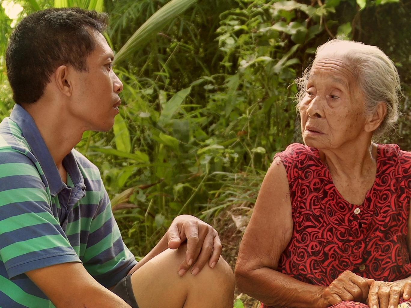 Adi Rukun and his mother, Rohani, in 'The Look of Silence'