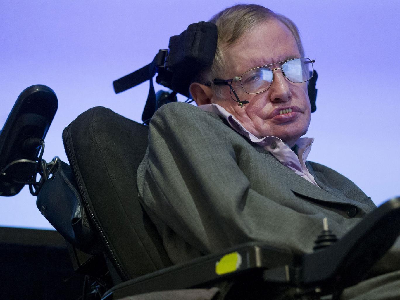 Print Stephen Hawking