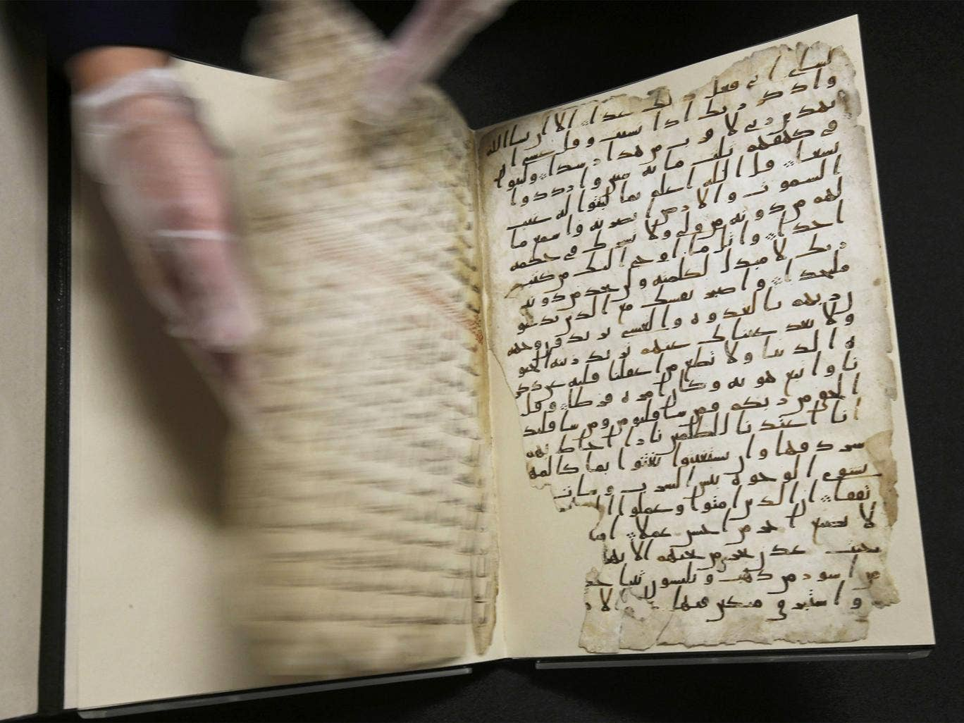The University of Birmingham says parts of a Koran manuscript in its library are from one of the oldest copies of the Islamic text in the world