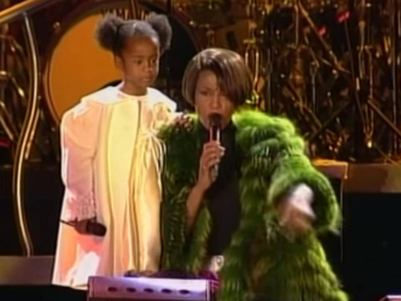 Bobby Brown Duet With Whitney Houston - Something In Common