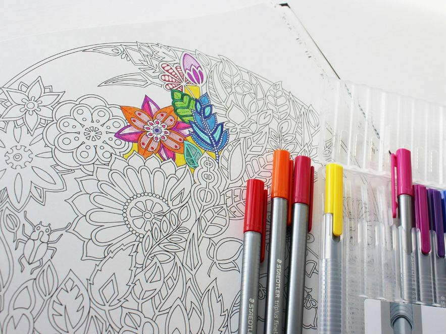 12 Best Colouring Books For Adults Arts Amp Books Extras