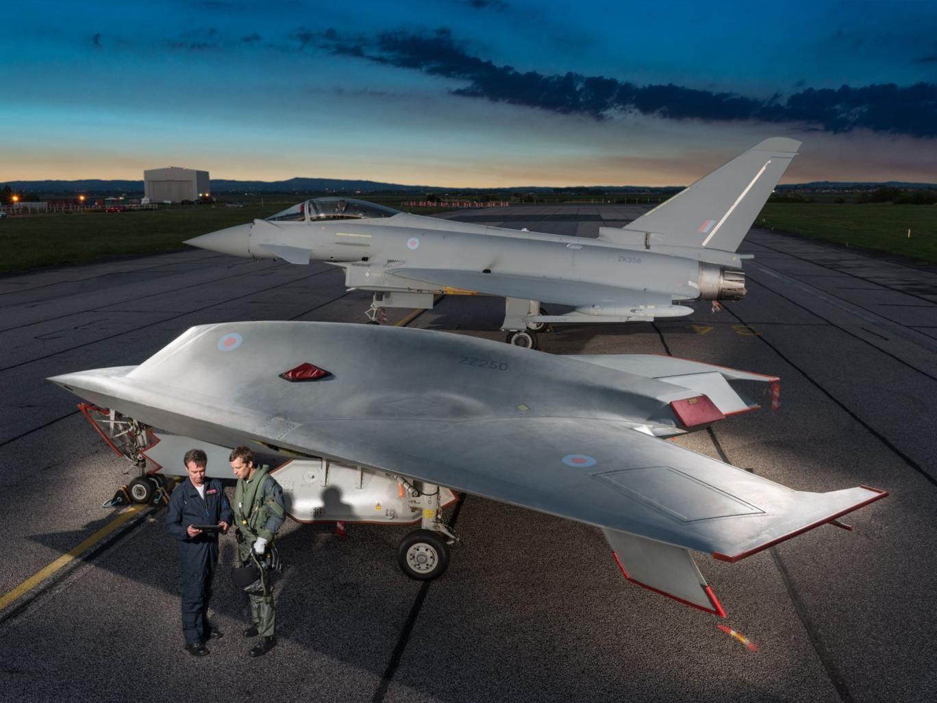 صفقة مغربية - بريطانية لنقل تكنولوجيا تصنيع طائرات بدون طيار الى المغرب 12-taranis-drone-BAESystems