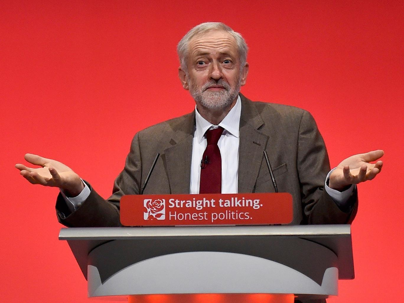 Jeremy Corbyn conference 2015