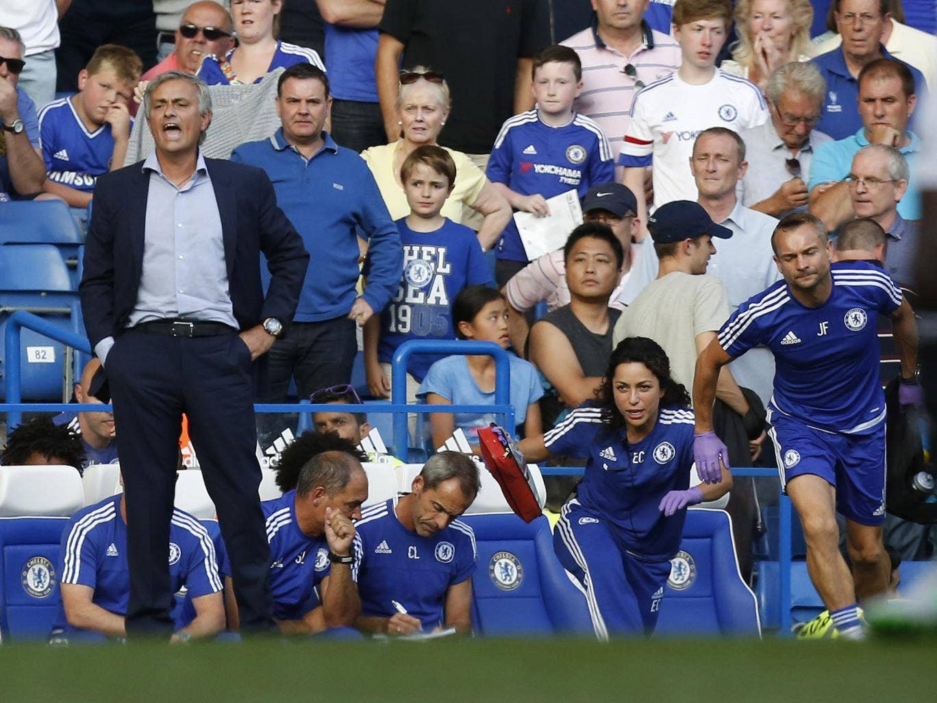 The former team doctor resigned from her position at Stamford Bridge last week