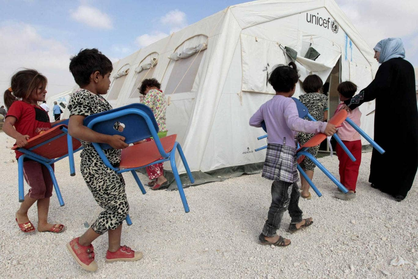 Syrian refugees would be getting an education if the West actually delivered on its pledges