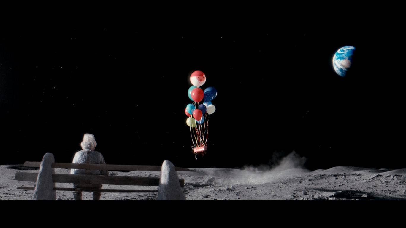 Man on the moon campaign