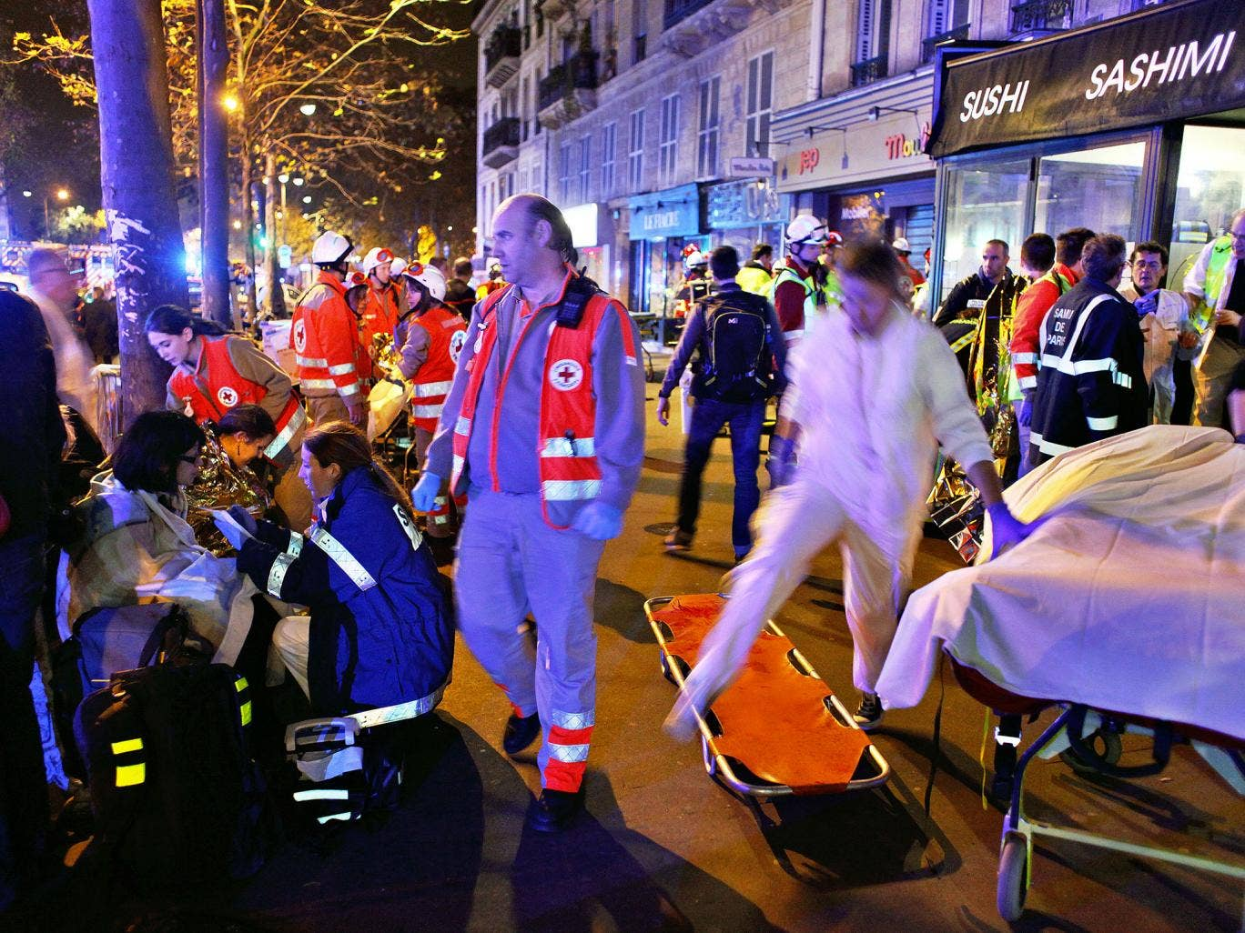 Paris ISIS Attack at Bataclan. Courtesy: independent.co.uk