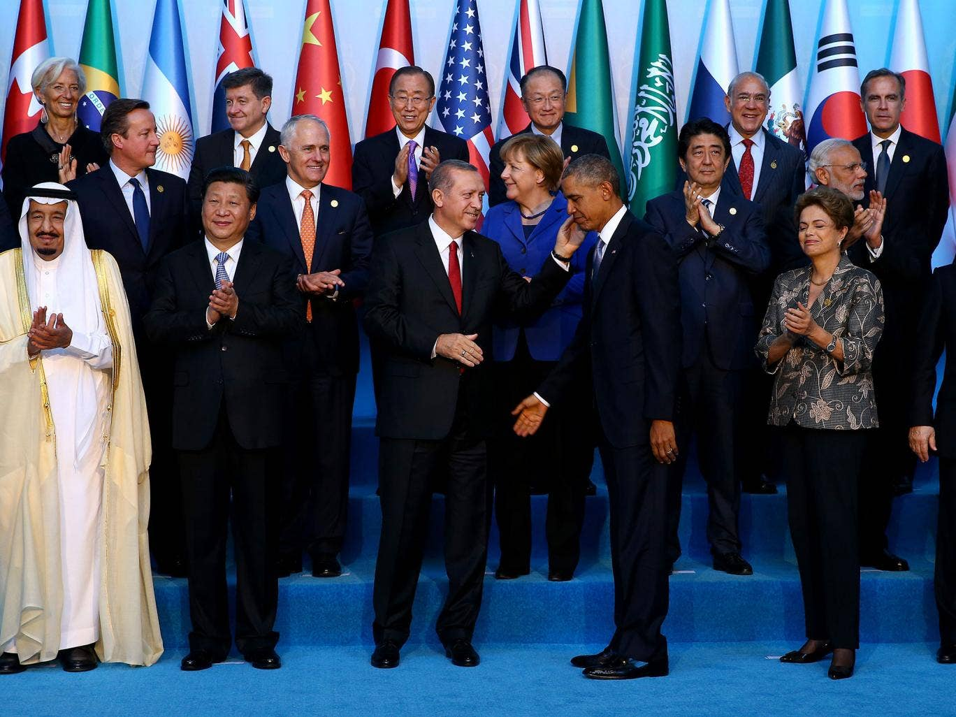 The G20 leaders meet in Antalya, Turkey