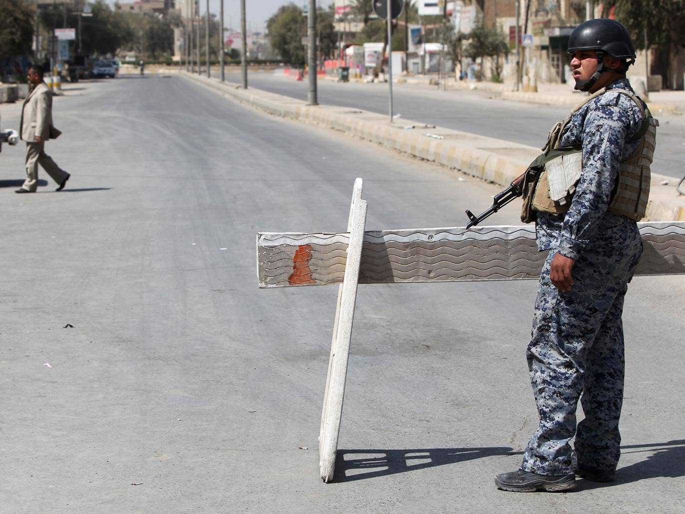 Baghdad sees near daily attacks, many claimed by the Sunni militant Islamic State group