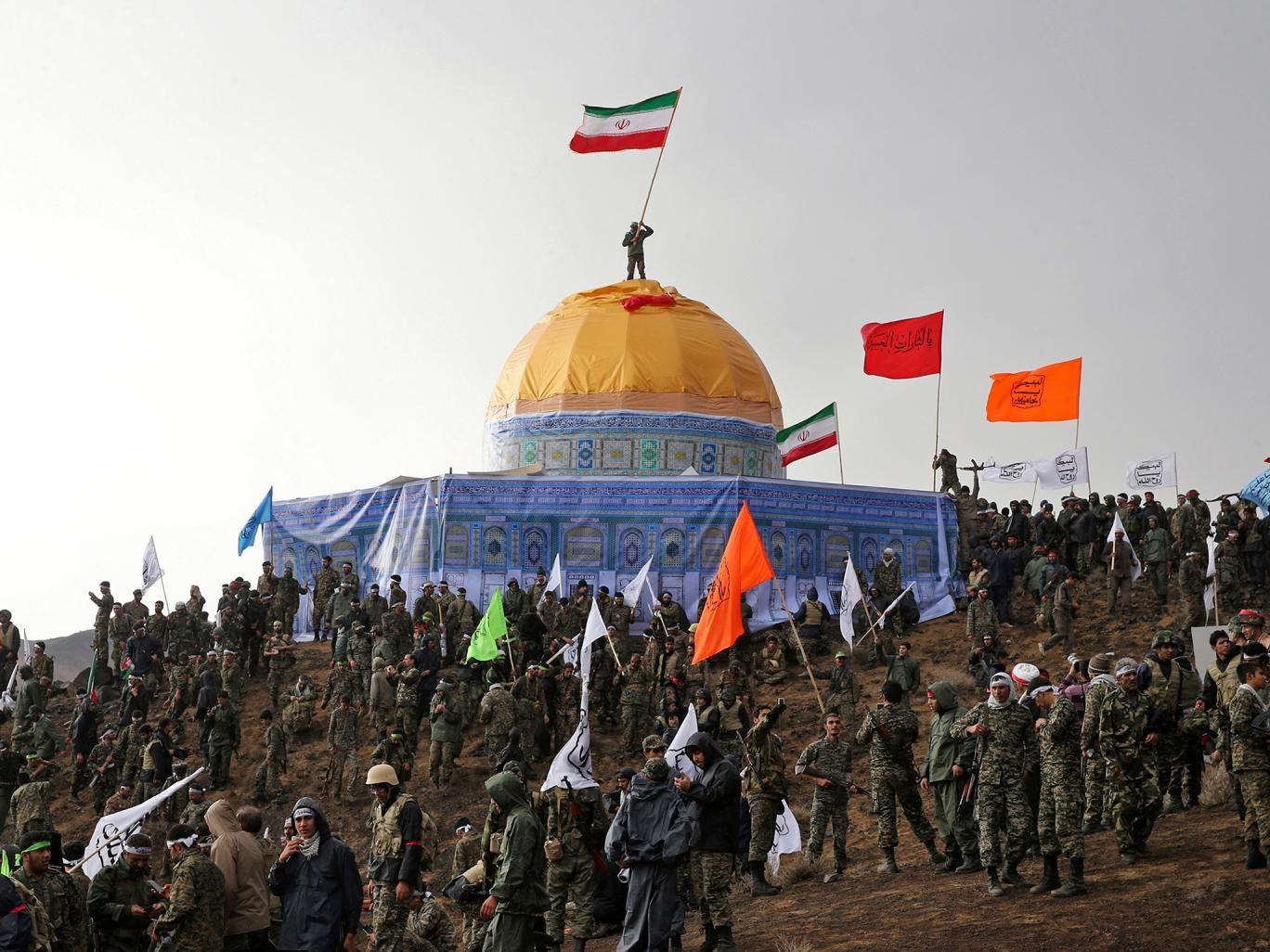 Iran's Revolutionary Guard Simulates Capture of Al-Aqsa Mosque