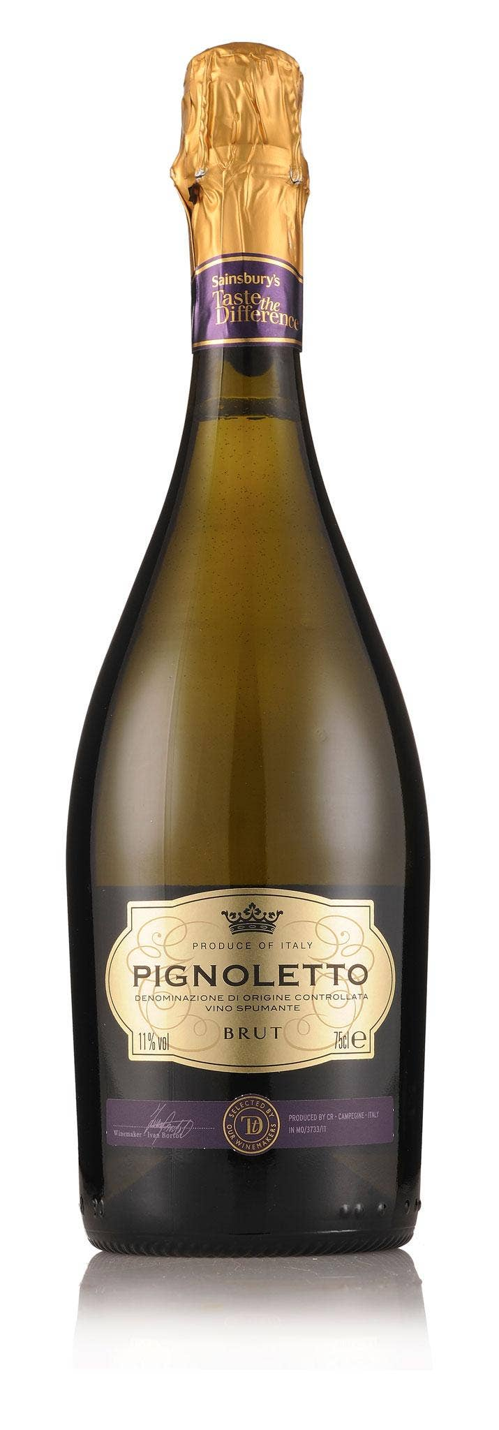 Pignoletto Brut Taste the Difference