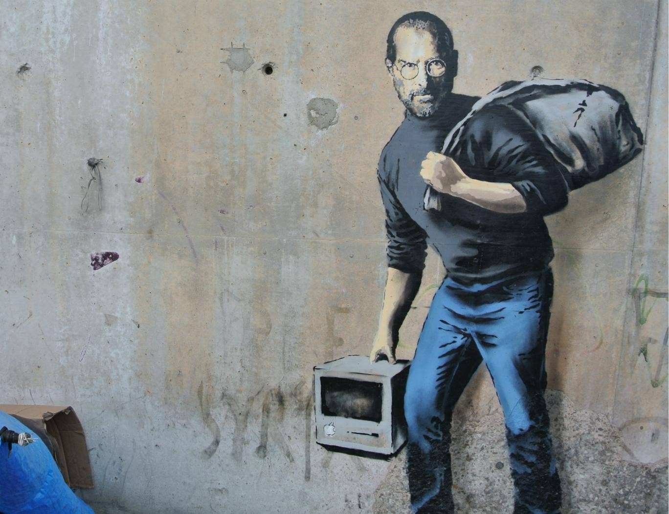 home street art libguides at the royal danish academy of fine banksy uses steve jobs