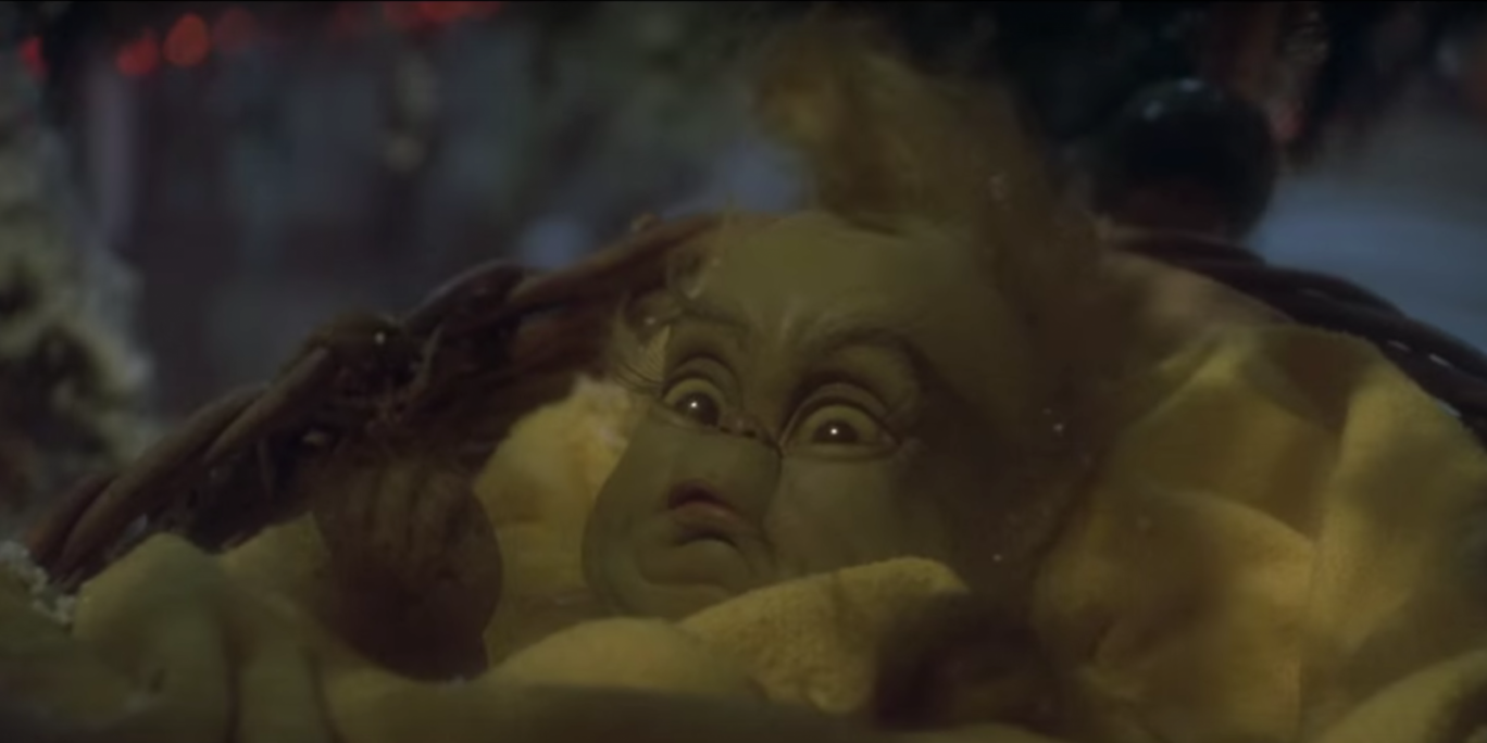 the grinch has a kindof adult secret that will definitely
